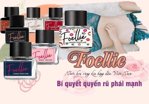 Bộ sản phẩm Nước Hoa Vùng Kín Foellie