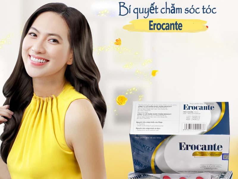 Chăm sóc tóc hiệu quả với Erocante